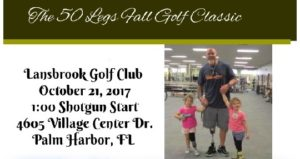 50 Legs Fall Golf Classic October 21 @ Lansbrook Golf Club | Palm Harbor | Florida | United States