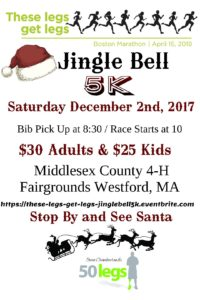 Jingle Bell 5K in Westford MA @ Middlesex County 4H Fair Inc | Westford | Massachusetts | United States