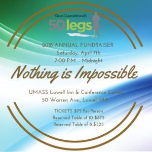 Nothing is Impossible Annual Fundraiser @ UMASS Lowel Inn & Conference Center