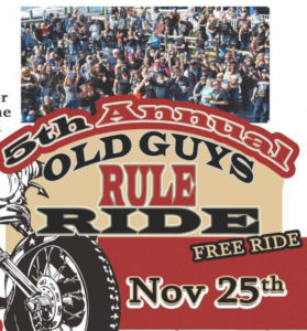 5th Annual Old Guys Rule Ride @ Bellissimo Italian Eatery