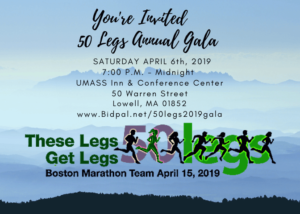 50 Legs Annual Gala @ UMASS Inn & Conference Center