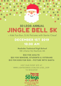 50 Legs Annual Jingle Bell 5K @ Nashoba Technical High School
