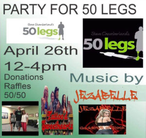 Party for 50 Legs! @ Peggys Corral