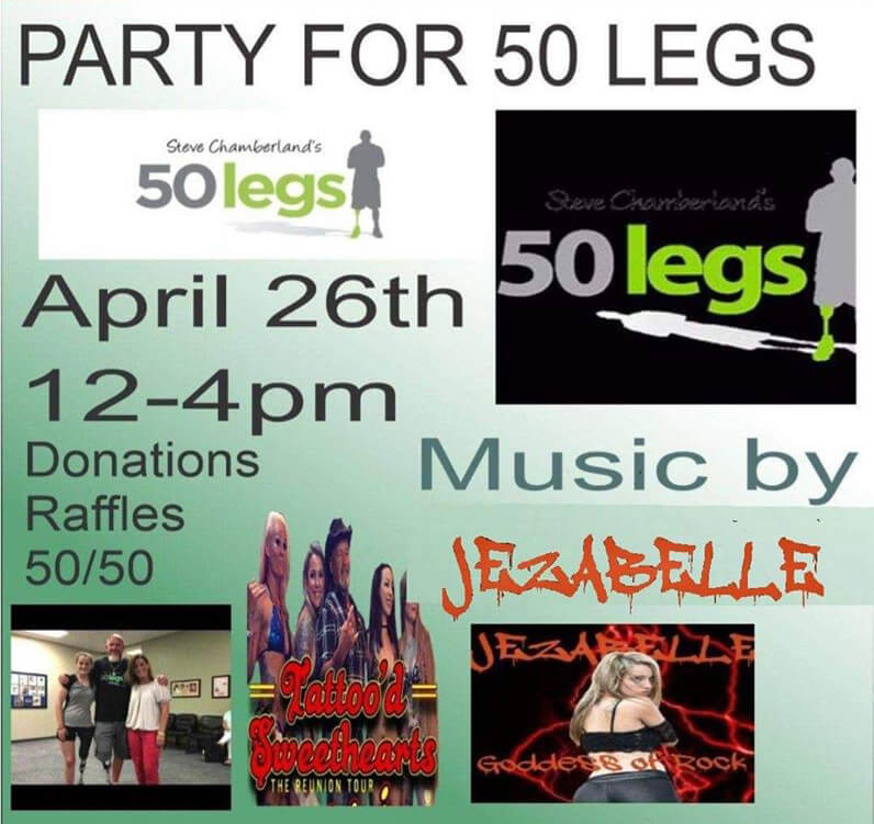 party for 50 legs